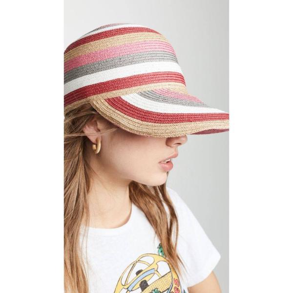 ラファエロベッティーニ Raffaello Bettini レディース 帽子 Braid Hat Red/Natural