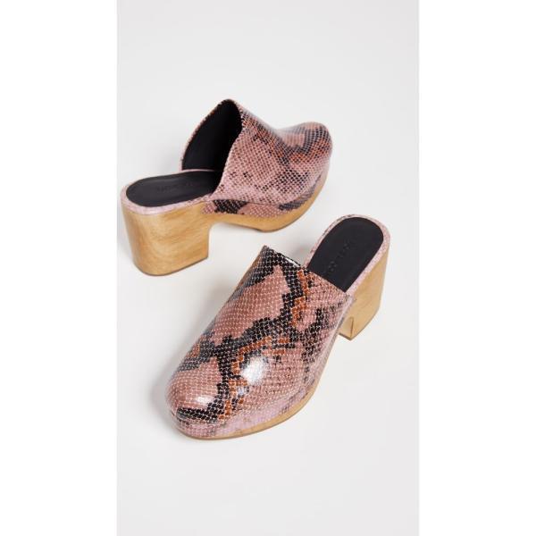 レイチェル コーミー Rachel Comey レディース サンダル・ミュール シューズ・靴 Bose Low Clogs Pink Snake