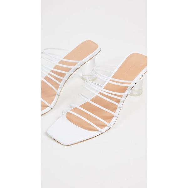 レジーナ ピヨ Rejina Pyo レディース サンダル・ミュール シューズ・靴 Zoe Heel Sandals White