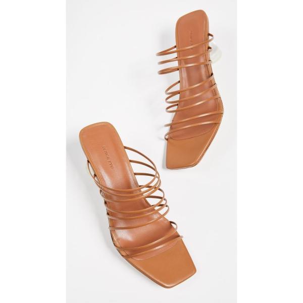 レジーナ ピヨ Rejina Pyo レディース サンダル・ミュール シューズ・靴 Zoe Heel Slides Brown
