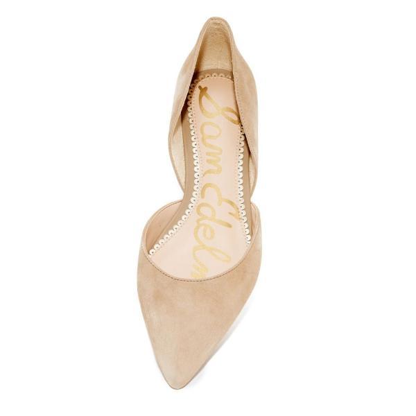 サム エデルマン レディース スリッポン・フラット シューズ・靴 Rodney d'Orsay Flats Oatmeal