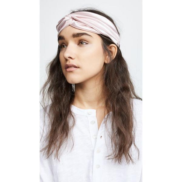 スリップ Slip レディース ヘアアクセサリー The Twist Headband Pink