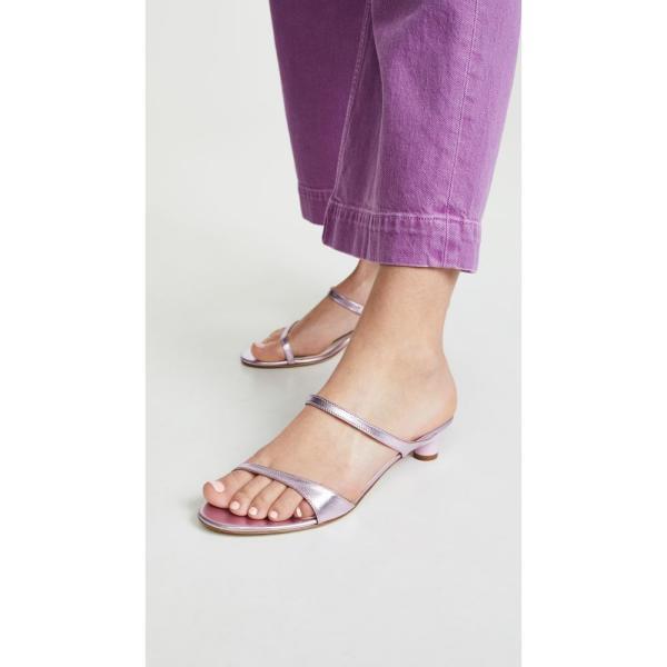 ティビ Tibi レディース サンダル・ミュール シューズ・靴 Duke Slides Lavender