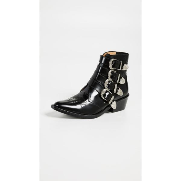 トーガ Toga Pulla レディース ブーツ シューズ・靴 Buckled Booties Black