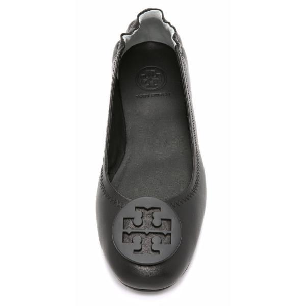 トリー バーチ レディース スリッポン・フラット シューズ・靴 Minnie Travel Ballet Flats Black