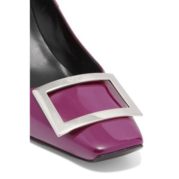 ロジェ ヴィヴィエ Roger Vivier レディース パンプス シューズ・靴 Belle Vivier Trompette patent-leather pumps Veleno Chiaro