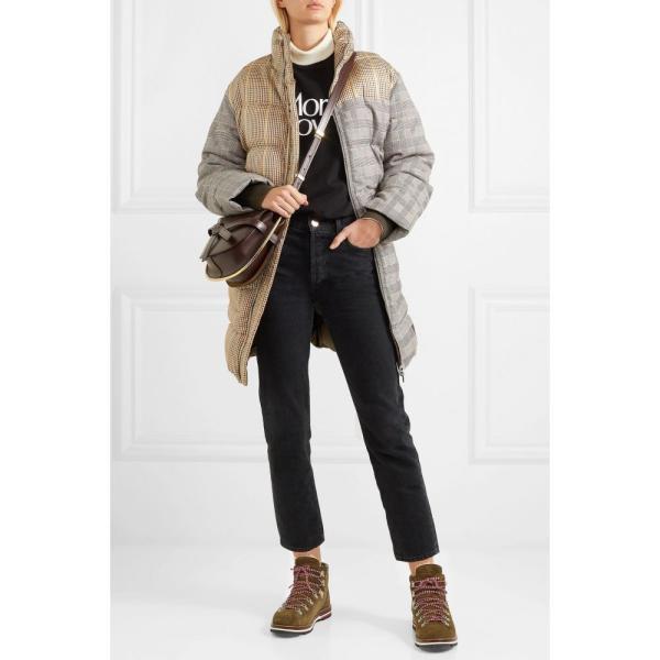 モンクレール Moncler レディース ブーツ シューズ・靴 Blanche shearling-lined suede ankle boots