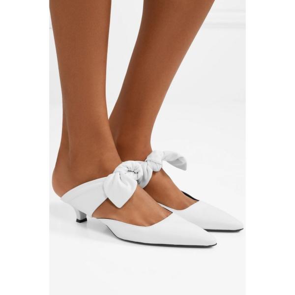 ザ ロウ The Row レディース サンダル・ミュール シューズ・靴 Coco leather mules