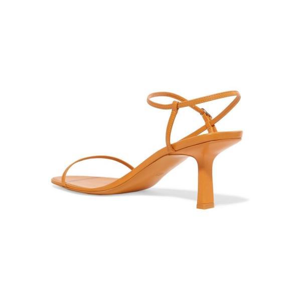 ザ ロウ The Row レディース サンダル・ミュール シューズ・靴 Bare leather sandals