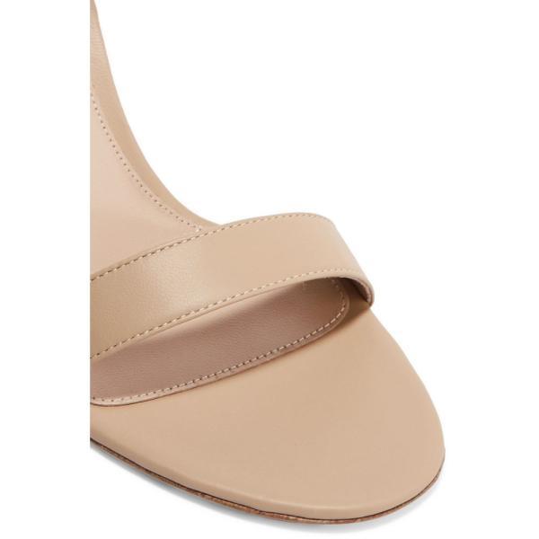 ジャンヴィト ロッシ Gianvito Rossi レディース サンダル・ミュール シューズ・靴 Portofino 70 leather sandals Nude