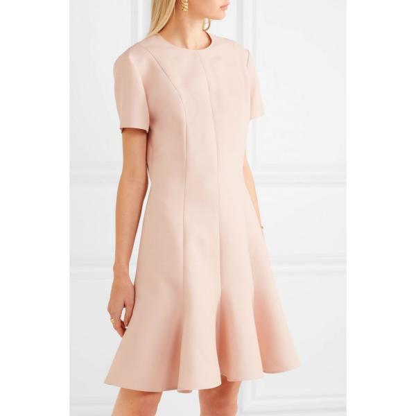 ステラ マッカートニー Stella McCartney レディース パーティードレス ワンピース・ドレス Pleated wool-blend mini dress Rose