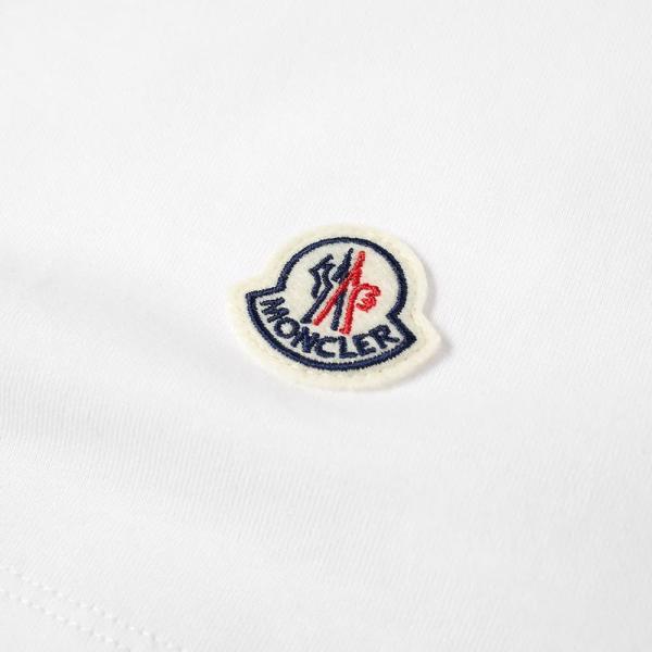 モンクレール Moncler Genius メンズ Tシャツ ロゴTシャツ トップス - 2 moncler 1952 - macro logo print tee White|ef-3|02