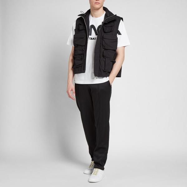 モンクレール Moncler Genius メンズ Tシャツ ロゴTシャツ トップス - 2 moncler 1952 - macro logo print tee White|ef-3|05