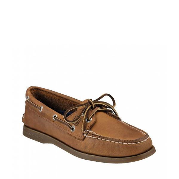 スペリー Sperry レディース スリッポン・フラット シューズ・靴 Top-Sider Authentic Original Boat Shoes Sahara