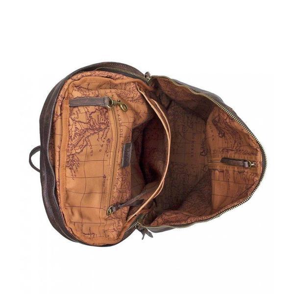 パトリシア ナッシュ Patricia Nash メンズ バックパック・リュック バッグ Nash Tuscan II Leather Backpack Chocolate