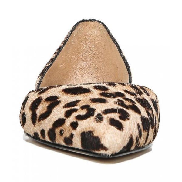 サム エデルマン Sam Edelman レディース スリッポン・フラット シューズ・靴 Rodney Leopard Print Calf Hair Flats Sand Leopard
