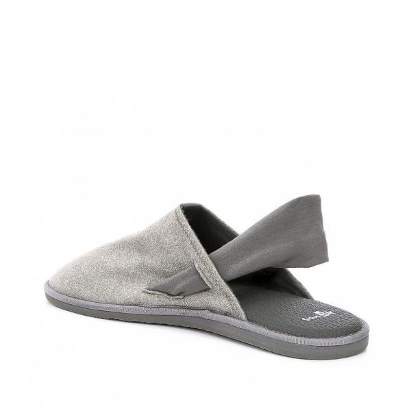 サヌーク Sanuk レディース スリッポン・フラット シューズ・靴 Yoga Sling Cruz Slip On Shoes Heather Charcoal