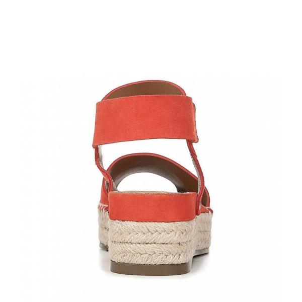 フランコサルト Franco Sarto レディース エスパドリーユ シューズ・靴 Sarto by Oak Suede Espadrille Wedge Sandals Poppy