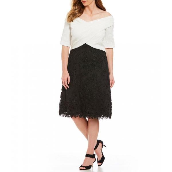 ファッション ドレス foxiedox NEW Blue White Embroidered Womens Size Large L A-Line Dress