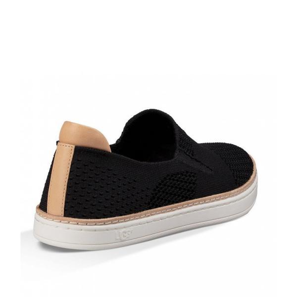 アグ UGG レディース スリッポン・フラット シューズ・靴 Sammy Knit Slip-On Sneakers Black