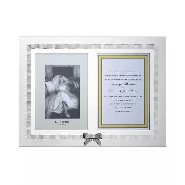 ケイト スペード kate spade new york レディース 雑貨 Grace Avenue Double 5x7' Invitation Frame Silver