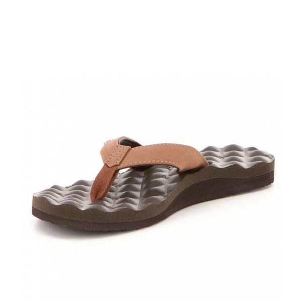 リーフ Reef レディース ビーチサンダル シューズ・靴 Dreams Faux Leather Flip-Flops Brown