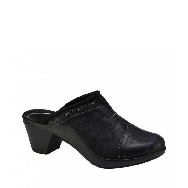 ロミカ Romika レディース クロッグ シューズ・靴 Mokassetta 271 Leather Clogs Black