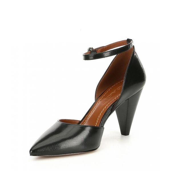 コーチ COACH レディース サンダル・ミュール シューズ・靴 Wynne Leather Ankle Strap Sandals Black