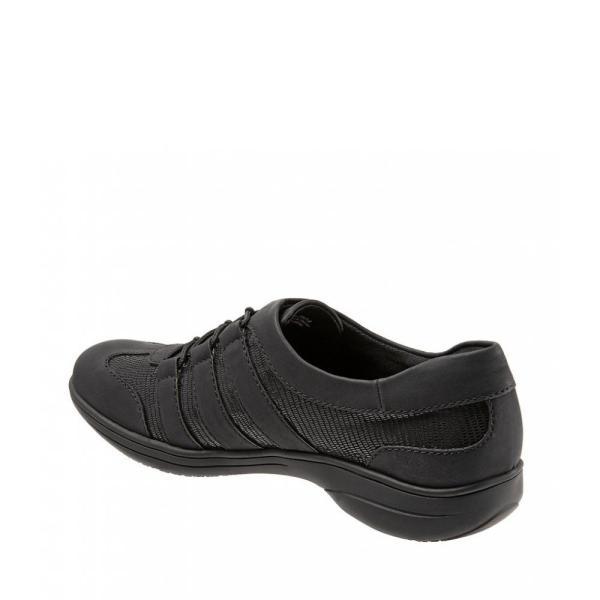 トロッターズ Trotters レディース ローファー・オックスフォード シューズ・靴 Joy Patent Suede Leather Walking Shoes Black