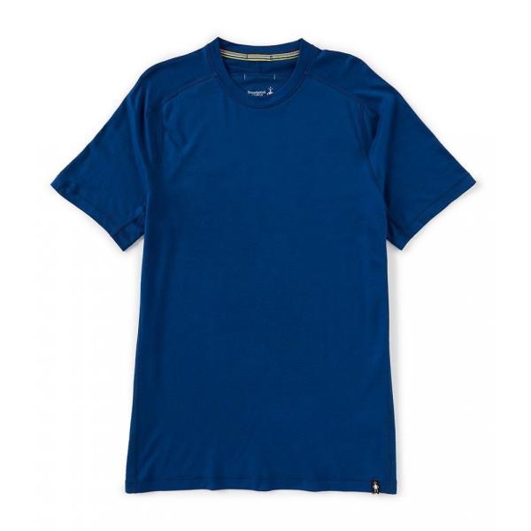 スマートウール SmartWool メンズ Tシャツ トップス Merino Sport 150 Short-Sleeve Tech Tee Alpine Blue ef-3