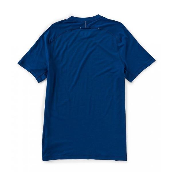 スマートウール SmartWool メンズ Tシャツ トップス Merino Sport 150 Short-Sleeve Tech Tee Alpine Blue ef-3 02