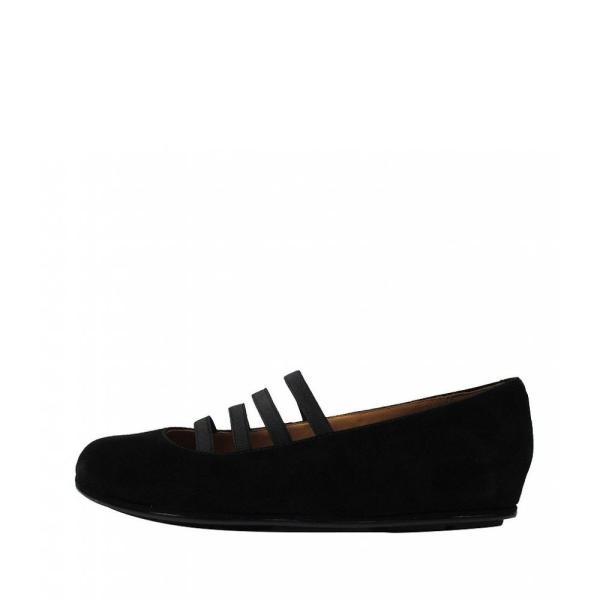 ラモールドピード L'Amour Des Pieds レディース スリッポン・フラット シューズ・靴 Caiden Suede Ballerina Flats Black
