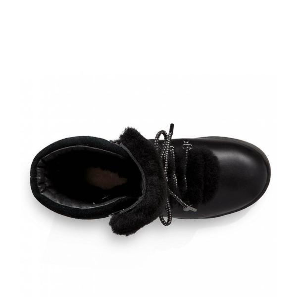 アグ UGG レディース ブーツ シューズ・靴 Viki Waterproof Lace Up Boots Black Multi
