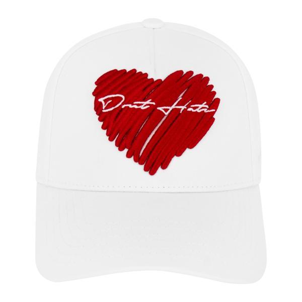 【即納】ブルジョワジー Bourgeoisie ユニセックス キャップ 帽子 Don't Hate Cap White 数量限定 アジャスター スナップバック|ef-3
