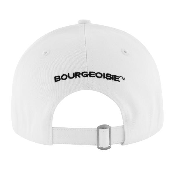 【即納】ブルジョワジー Bourgeoisie ユニセックス キャップ 帽子 Bourgeoisie Gen?ve Cap White 数量限定 アジャスター スナップバック|ef-3|03
