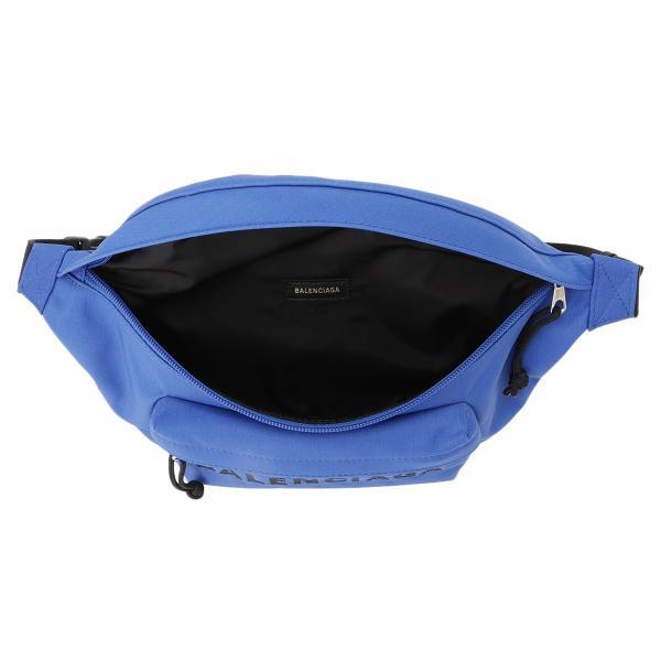 【即納】バレンシアガ Balenciaga ユニセックス ボディバッグ・ウエストポーチ バッグ Wheel Belt Pack BLUE バムバッグ ベルトバッグ ナイロン|ef-3|03
