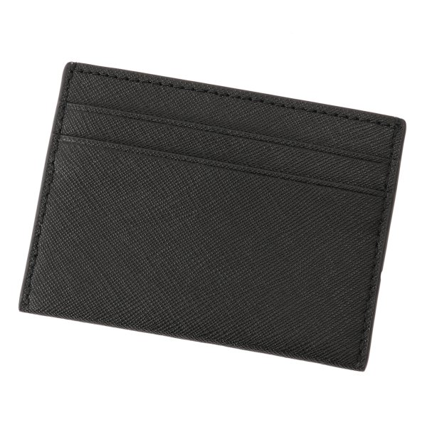 【即納】トリー バーチ Tory Burch レディース カードケース・名刺入れ Robinson Card Case 54886 Perfect Black ロゴ|ef-3|02