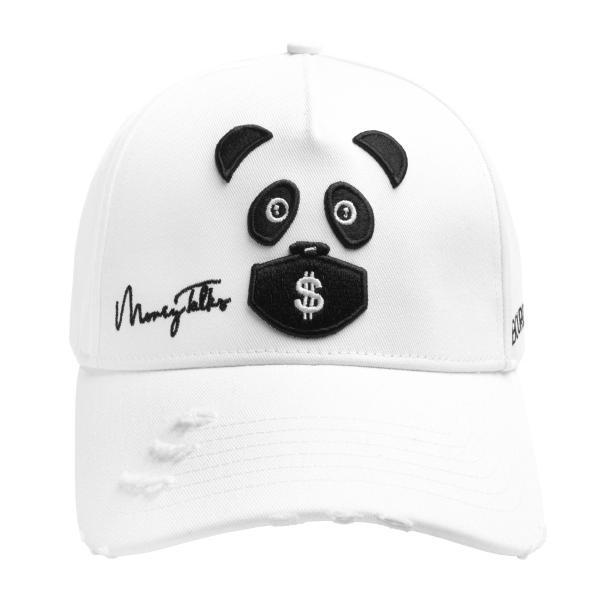 【即納】ブルジョワジー Bourgeoisie ユニセックス キャップ 帽子 Money Talks Cap Cotton White 数量限定 アジャスター スナップバック ef-3