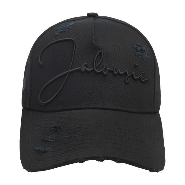 【即納】ブルジョワジー Bourgeoisie ユニセックス キャップ 帽子 Jalousie Cap Black 数量限定 アジャスター スナップバック|ef-3