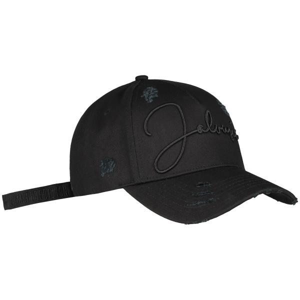 【即納】ブルジョワジー Bourgeoisie ユニセックス キャップ 帽子 Jalousie Cap Black 数量限定 アジャスター スナップバック|ef-3|02