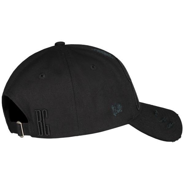 【即納】ブルジョワジー Bourgeoisie ユニセックス キャップ 帽子 Jalousie Cap Black 数量限定 アジャスター スナップバック|ef-3|03