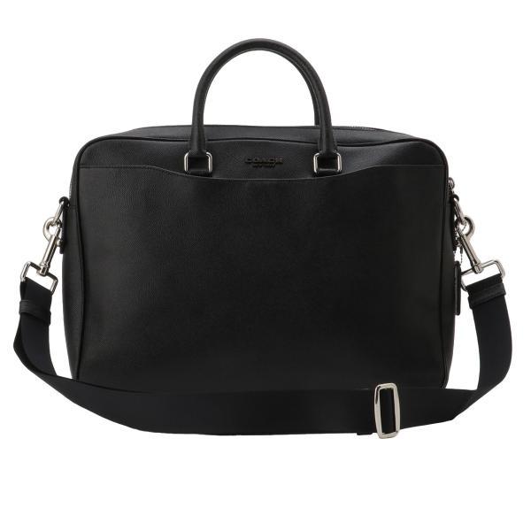 【即納】コーチ Coach メンズ ビジネスバッグ・ブリーフケース バッグ Leather Bag NIBLK 2way 通勤 F68030|ef-3