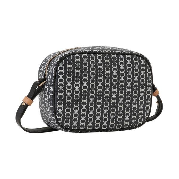 【即納】トリー バーチ Tory Burch レディース ショルダーバッグ バッグ Gemini Link Canvas Mini Bag 57743 Black キャンバス|ef-3|02