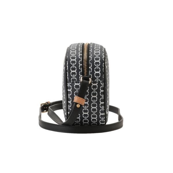 【即納】トリー バーチ Tory Burch レディース ショルダーバッグ バッグ Gemini Link Canvas Mini Bag 57743 Black キャンバス|ef-3|03