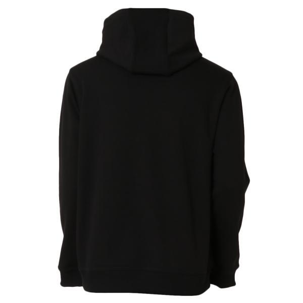 【即納】バーバリー Burberry メンズ パーカー トップス Lexstone Logo Print Hoodie 8009509 BLACK スウェット ロゴ プルオーバー フード フーディ|ef-3|02