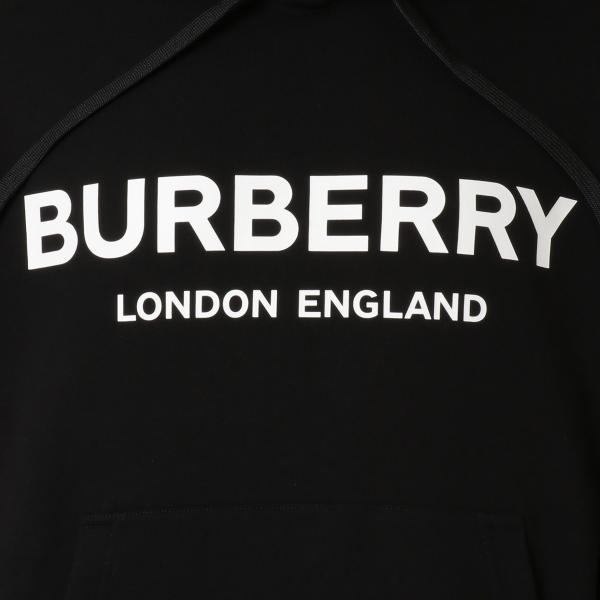 【即納】バーバリー Burberry メンズ パーカー トップス Lexstone Logo Print Hoodie 8009509 BLACK スウェット ロゴ プルオーバー フード フーディ|ef-3|03