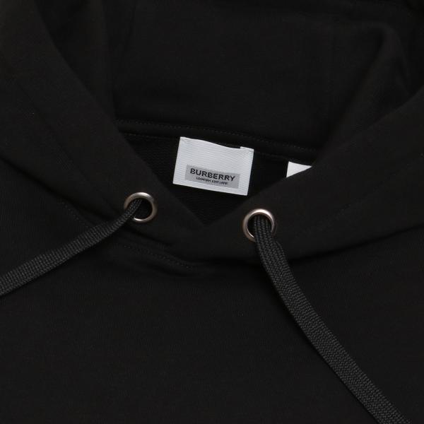 【即納】バーバリー Burberry メンズ パーカー トップス Lexstone Logo Print Hoodie 8009509 BLACK スウェット ロゴ プルオーバー フード フーディ|ef-3|04