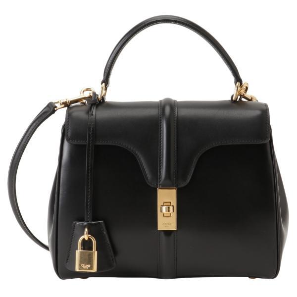 【即納】セリーヌ Celine レディース ショルダーバッグ バッグ Small 16 Bag 188003BEY BLACK ハンドバッグ 2way セーズ|ef-3