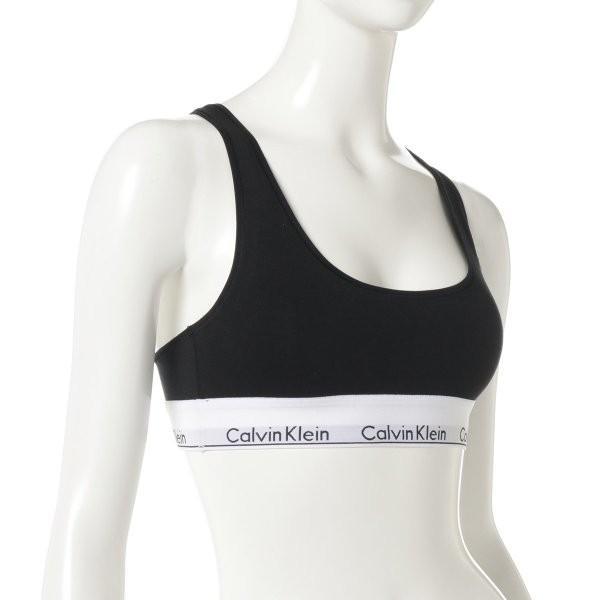 【即納】カルバンクライン Calvin Klein Underwear レディース ブラジャーのみ インナー・下着 Modern Cotton Bralette Black|ef-3|02