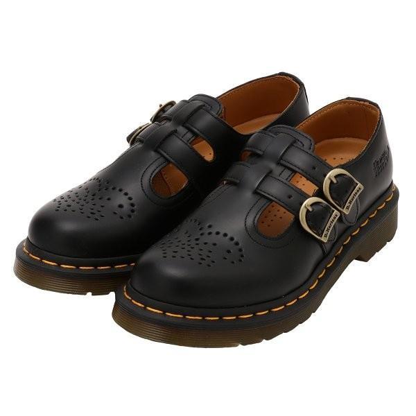 【即納】ドクターマーチン Dr. Martens ユニセックス ローファー・オックスフォード シューズ・靴 8065 MARY JANE SHOES Black|ef-3